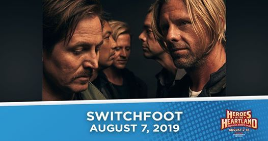 Switchfoot on the Indiana State Fair Free Stage at Indiana State