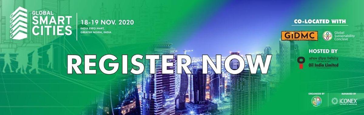 Global Smart Cities India 2020 expo 18 - 19 November 2020