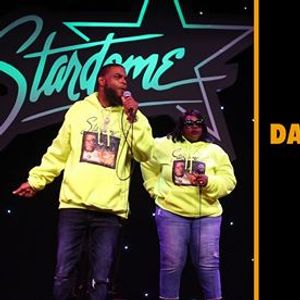 Daddazz and Melissa MC at Stand Up Live