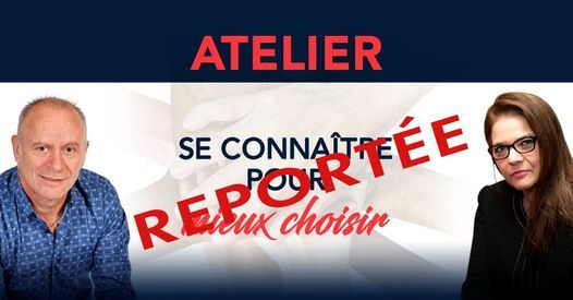Chambly, Atelier: Se connaître pour mieux choisir. 60$, 19 December | Event in Chambly | AllEvents.in
