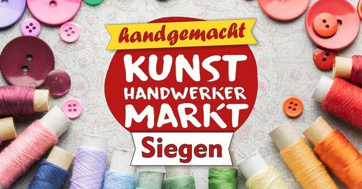 Kunsthandwerkermarkt Siegen, 29 August | Event in Siegen | AllEvents.in