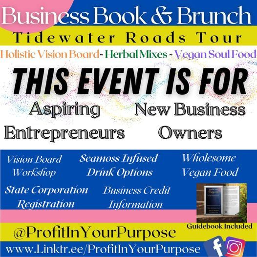 (NORFOLK) Business Book & Brunch Tour, 22 August | Event in Highland Springs | AllEvents.in