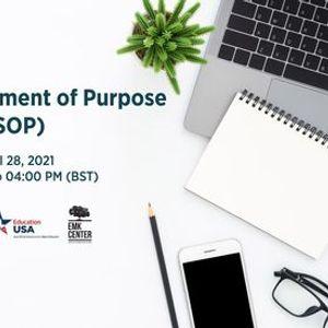 Writing Statement of Purpose (SOP)