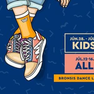 Bronsis KIDS CAMP  Jnius 28 - Jlius 2. DanceLab thisishowwedoit