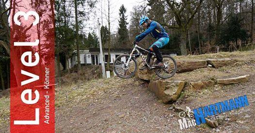 MTB-Kurs Level 3 - Droppen&Springen Mountainbikekurs