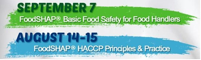 FoodSHAP® Basic Food Safety for Food Handlers Course at AKIC