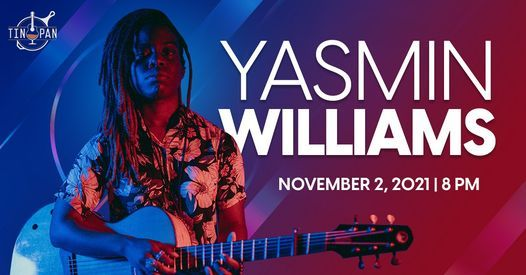 Yasmin Williams at The Tin Pan, 2 November   Event in Richmond   AllEvents.in