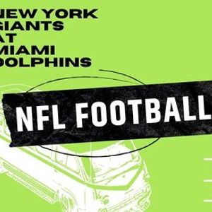 NFL Football Bus Trip New York Giants at Miami Dolphins