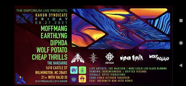 Kakun Syndicate Takeover Round 2, 27 August | Event in Wilmington | AllEvents.in