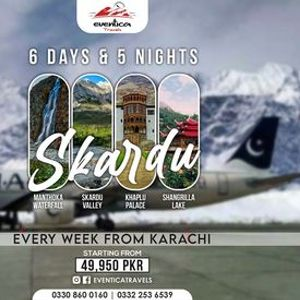 BY AIR - 06 Days Tour to Skardu Shigar & Khaplu Valley