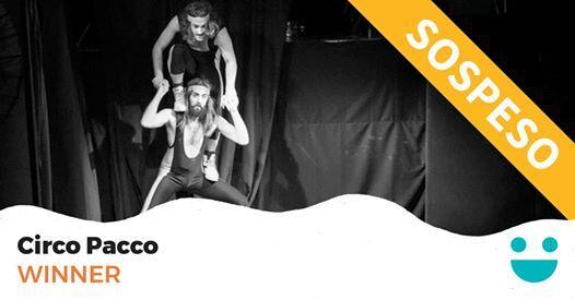 Sospeso  Winner - Circo Pacco al Teatro Murialdo