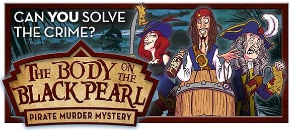 The Body on the Black Pearl | M**der Mystery at Shaw Hill Golf & Spa