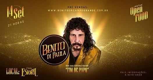 Benito Di Paula - Fim de papo - Campo GrandeMS