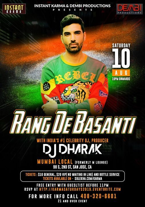 Rang De Basanti - Pre Independence Day Celebrations Party at M