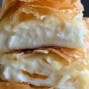Online Class Greek Fillo & Cheese Bougatsa Class