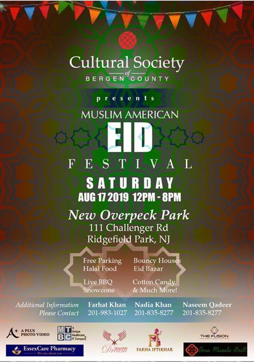 Muslim American Eid Festival at Overpeck County Park