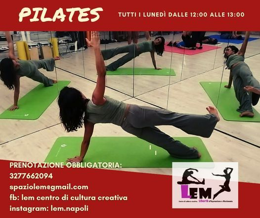 Corso di Pilates, Lem | Event in Naples | AllEvents.in