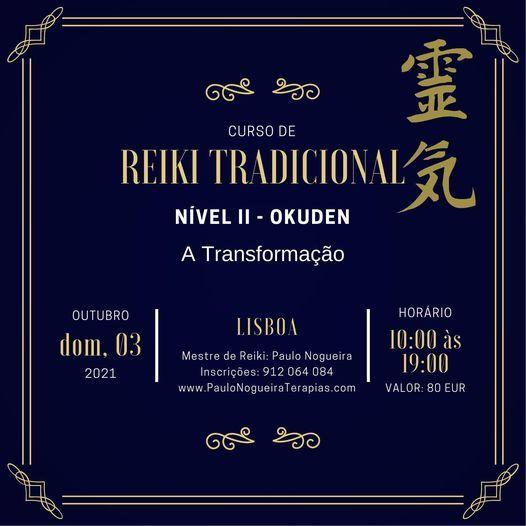 Curso de Reiki Tradicional Nível II, 3 October | Event in Odivelas | AllEvents.in