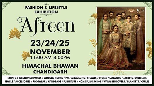 AFREEN Fashion Lifestyle & Home Decor Exhibition.