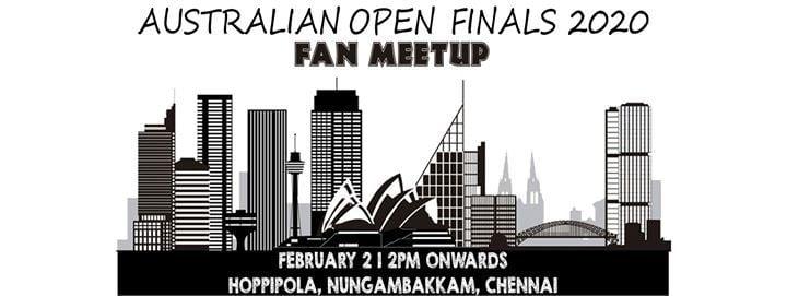 Fan Meetup Australian Open Finals At Hoppipola Chennai Chennai