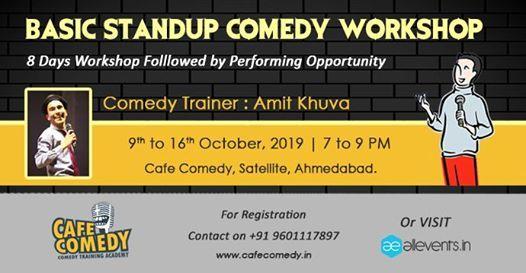 Basic Standup Comedy Workshop