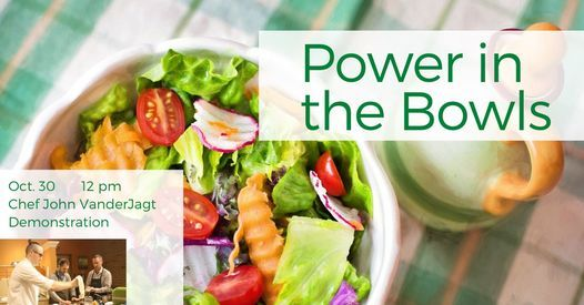 Power in the Bowls: Demonstration Cooking Class, 30 October   Event in Holland   AllEvents.in