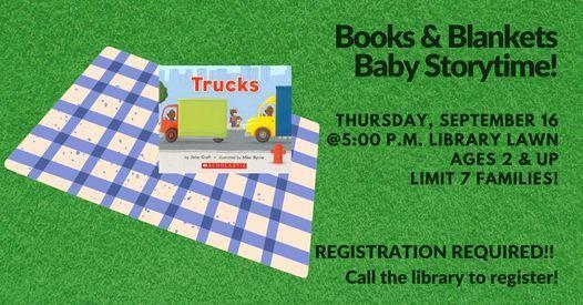 Books & Blankets Baby Storytime   Event in Rhinelander   AllEvents.in