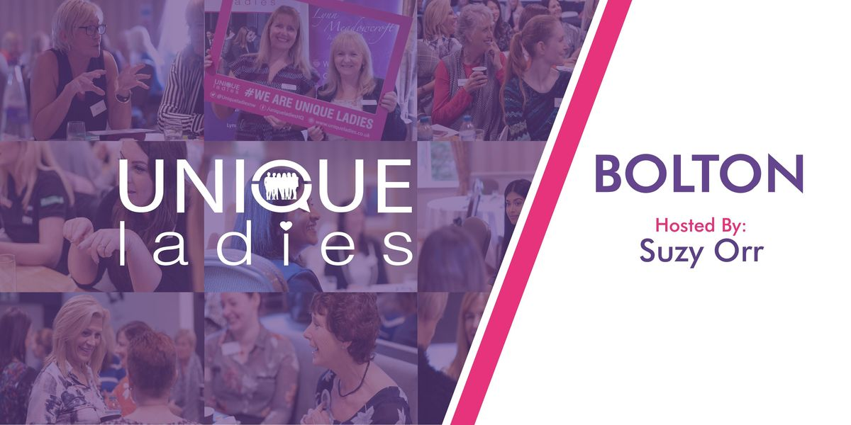 FREE ONLINE Unique Ladies Business Networking Bolton