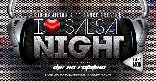 I Love Salsa Mondays (SJH Hamilton)