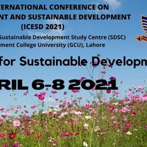 3rd International Conference on Environment and Sustainable Development