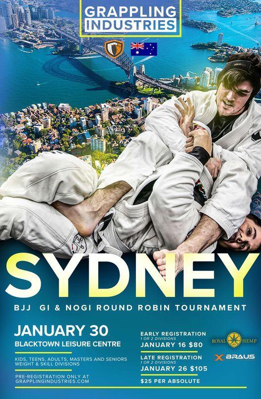 Grappling Industries Sydney, 11 December | Event in Sydney | AllEvents.in