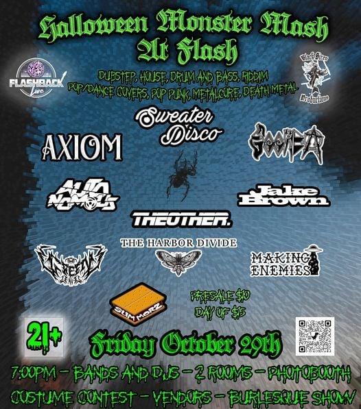 Halloween Monster Mash at Flash - Multi Genre Show, 29 October   Event in Fort Wayne   AllEvents.in