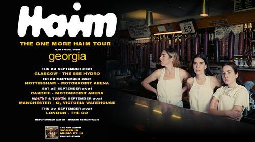 HAIM, 19 July | Event in Nottingham | AllEvents.in