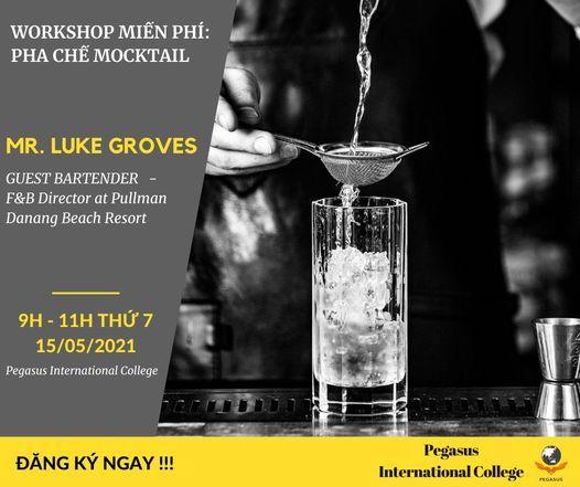 Workshop miễn phí: Pha chế Mocktail, 31 July   Event in Sanhu Dao   AllEvents.in