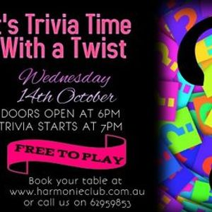 Its Trivia Time with a Twist