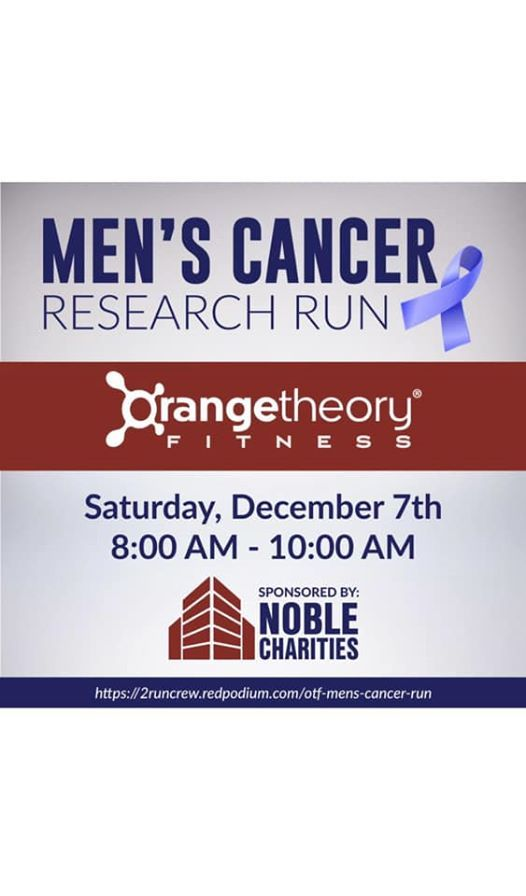 Mens Cancer Research 5k1 mile Run