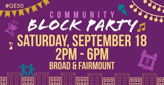 Community Block Party!   Event in Philadelphia   AllEvents.in