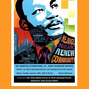 MLK Jr Combined Worship Service (Courageous Conversations)