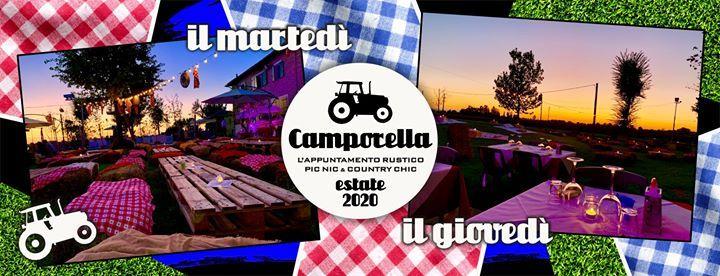 Camporella marted e gioved fuoriporta (solo su prenotazione)