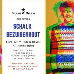Schalk Bezuidenhout at Farrarmere Mugg & Bean