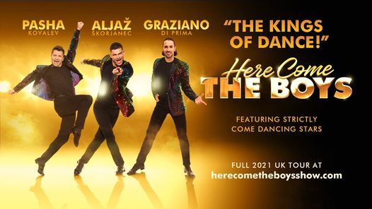 Here Come The Boys at New Theatre | Peterborough, 19 June | Event in Peterborough | AllEvents.in