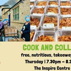 FREE takeaway meals - Cook and Collect