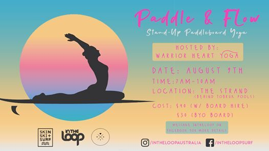Paddle & Flow - SUP Yoga On The Strand