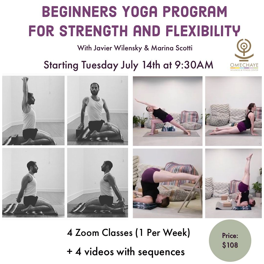 Online Beginners Yoga For Strength And Flexibility On Allevents In Online Events
