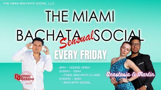 The Miami Bachata Social   Event in Miami   AllEvents.in