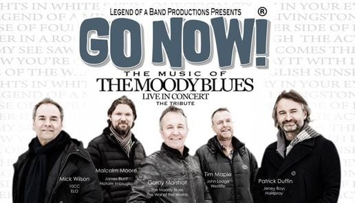 Go Now! The Music Of The Moody Blues, 17 June | Event in Chesham | AllEvents.in