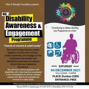 4th Annual Disability Awareness & Engagement Programme -DBN