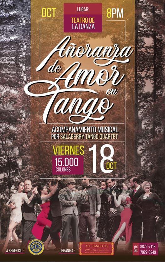 Espectculo Aoranza De Amor En Tango