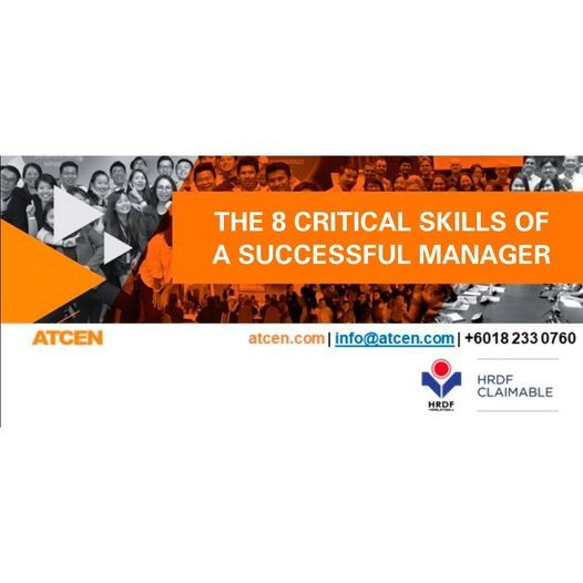 The 8 Critical Skills of a Successful Manager, 7 December | Event in Petaling Jaya | AllEvents.in