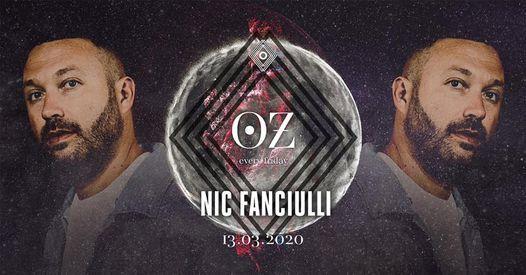 Oz_ presents Nic Fanciulli (New Date)